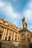 Statue of Saint Peter Royalty Free Stock Photos