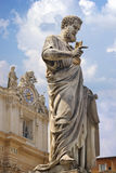 Statue of Saint Peter in Vatican.  Italy Stock Photos