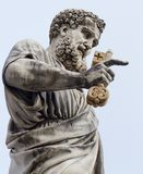 Statue of Saint Peter in Vatican royalty free stock photo