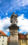 Statue of Saint Philip. Charles Bridge, Prague Stock Image