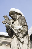 Statue of a saint, sacro monte, varese Royalty Free Stock Images