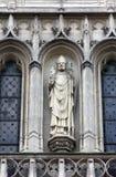 Statue of Saint, Saint Germain-l`Auxerrois church, Paris Stock Image