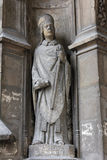 Statue of Saint, Saint Germain-l`Auxerrois church, Paris Royalty Free Stock Image