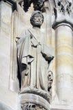 Statue of Saint, Saint-Jacques Tower, Paris Stock Photos