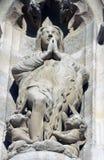 Statue of Saint, Saint-Jacques Tower, Paris Royalty Free Stock Image