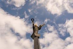 Statue of Saint Sofia Stock Photos