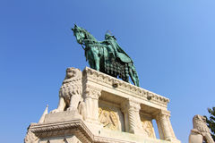 Statue of Saint Steven I Royalty Free Stock Photography
