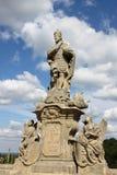 Statue of Saint Wenceslas in Kutna Hora royalty free stock photos