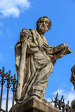The statue of Saints Stock Image