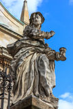 The statue of Saints Peter and Paul Church Royalty Free Stock Images
