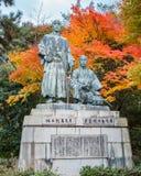 Statue of Sakamoto Ryoma with Nakaoka Shintaro Stock Photo