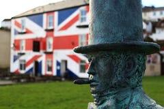 Statue in Saltash Lizenzfreies Stockfoto