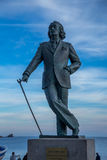 Statue of Salvator Dali in Cadaques Royalty Free Stock Images