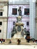 Statue in Salzburg, Austria Stock Images