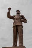 Statue of Samora Moisés Machel at Independence  Square Stock Photos