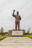 Statue of Samora Moisés Machel at Independence  Square Stock Photo