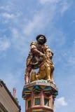 Statue of the Samson Fountain in Bern, Switzerland Stock Photography
