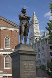 Statue of Samuel Adams Royalty Free Stock Images