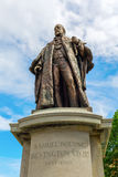 Statue of Samuel Bourne Bevington in London, UK Royalty Free Stock Photography