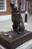 Statue of Samuel Johnson's Cat 'Hodge' Royalty Free Stock Image
