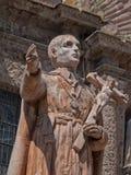 San Felipe Neri, Templo del Oratorio, San Miguel de Allende. Statue of San Felipe Neri in the temple of Oratorio in San Miguel de Allende, Mexico royalty free stock image
