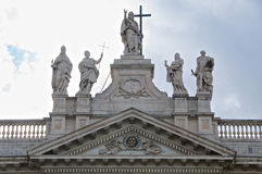 Statue San Giovanni in Laterano Basilica Roma Royalty Free Stock Images