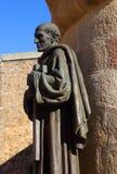 Statue of San Pedro de Alacantara, Caceres, Spain. Royalty Free Stock Images