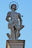 Statue of San Sebastian Royalty Free Stock Photography