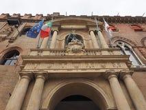 Statue Sans Petronio im Bologna Stockfotos