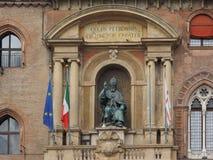 Statue Sans Petronio im Bologna Lizenzfreie Stockbilder