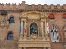 Statue Sans Petronio im Bologna Lizenzfreies Stockfoto
