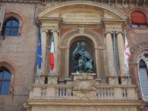 Statue Sans Petronio im Bologna Lizenzfreie Stockfotos