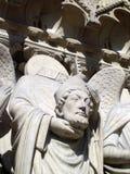 Statue sans tête de Notre Dame Image stock