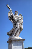 Statue at Sant Angelo Bridge. Roma (Rome), Italy Royalty Free Stock Photography