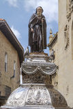 Statue of Santo Domingo de la Calzada, La Rioja. Spain. Royalty Free Stock Photo