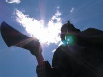 Statue scandinave Images libres de droits