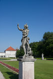 Statue schloss Munich Stock Photos