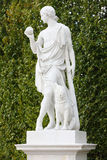Statue in Schonbrunn Palace Stock Photo