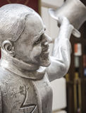 Statue of Schoner Naci Stock Images