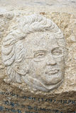 The statue of schubert Stock Photography