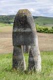 Statue in the sculpture camp in Oarba de Mures, Transylvania