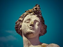 Statue, Sculpture, Classical Sculpture, Head Royalty Free Stock Photography