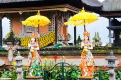 Statue Sculpture at Ulun Danu Temple, Bali, Indonesia Stock Image