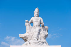 Statue of the sea god, matsu Stock Images