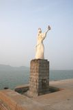 Statue of Sea maiden. Royalty Free Stock Photo