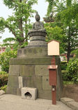 Statue at Senso-Ji Royalty Free Stock Photography
