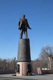 Statue of Sergey Korolev, Moscow, Russia Royalty Free Stock Photos
