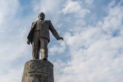Statue of Sergey Korolev. Stock Photo