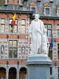 Statue of Servais, Halle. Belgium royalty free stock images