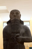Statue of Shalmaneser III. He was king of Assyria (859 BC - 824 BC Royalty Free Stock Photos